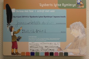 Opening Gysberts Lytse Rymlerye, 2013