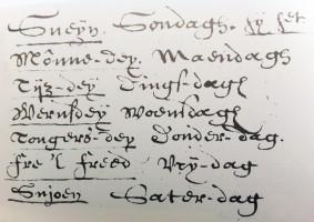 Handschrift Gysbert Japicx